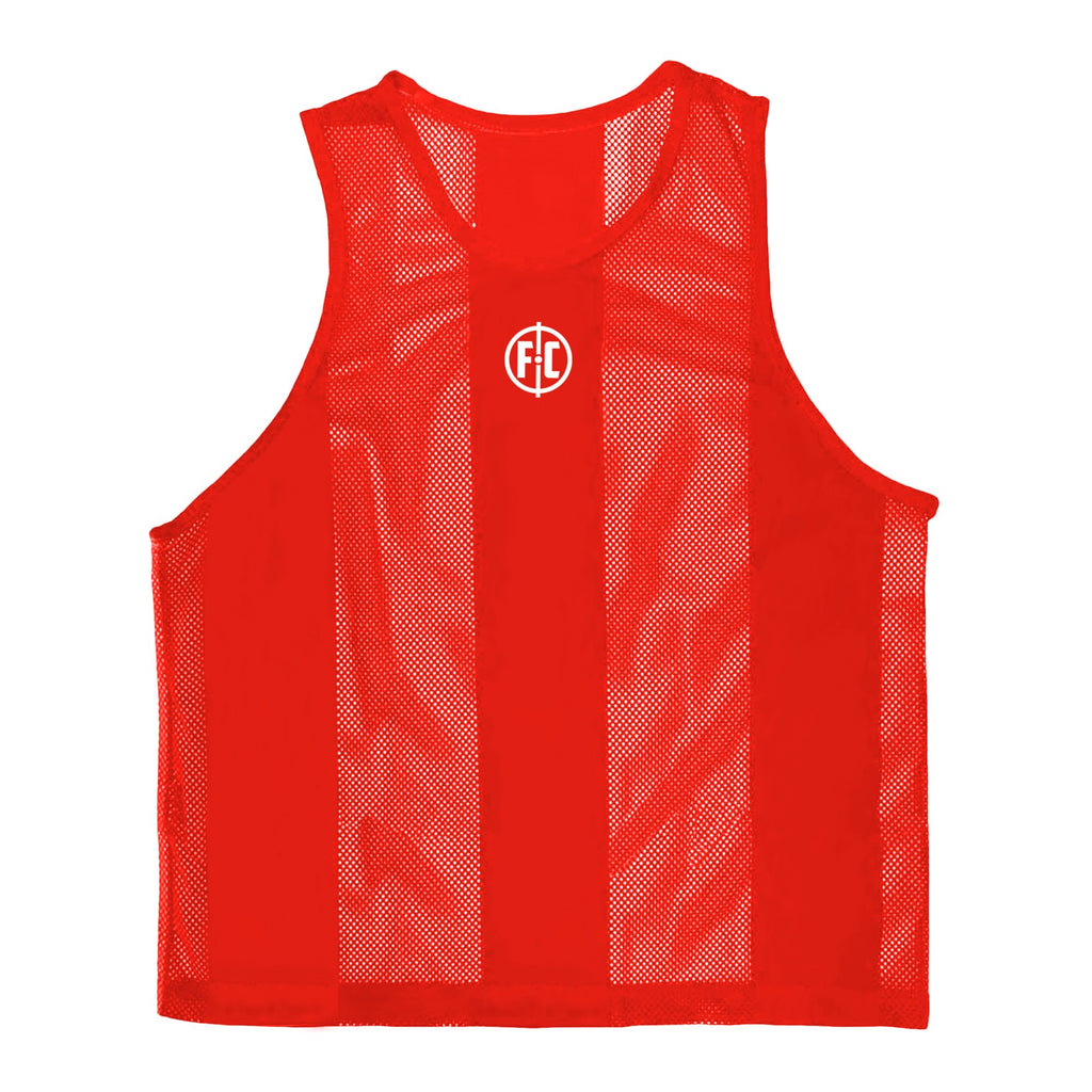 FC Mesh Training Bib Red