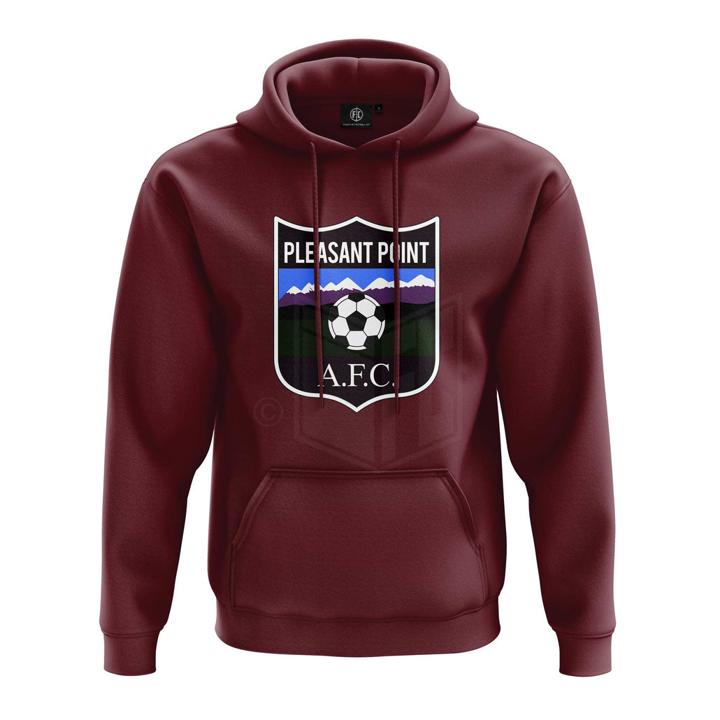 Pleasant Point AFC Club Hoodie - Maroon