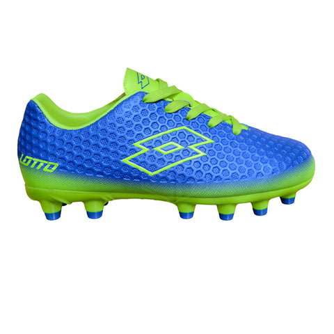 Lotto Hexus II FG Jnr (ROYAL/YELLOW)