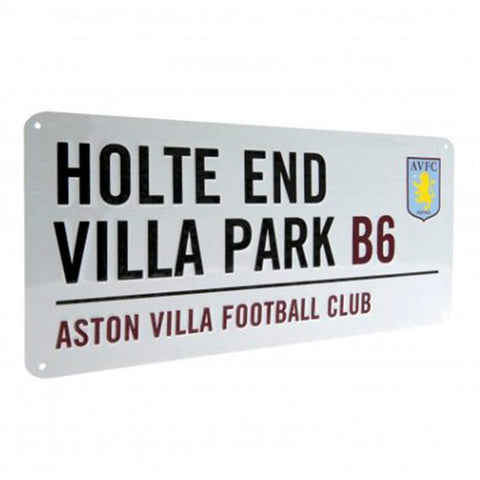 Aston Villa Street Sign