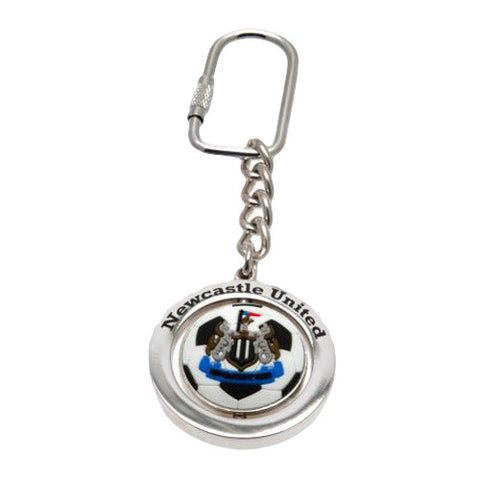Newcastle Utd Spinner Keyring