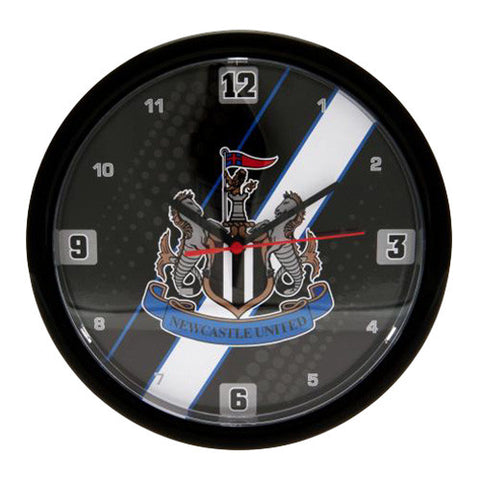 Newcastle Utd Stripe Wall Clock