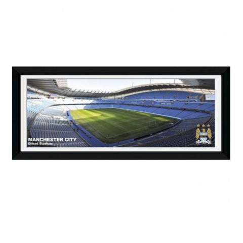 Manchester City Picture Etihad 30x12""