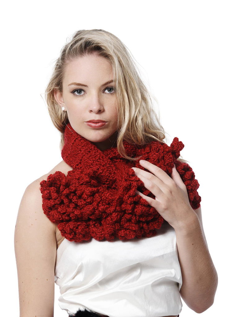 Coral Pluff Scarf
