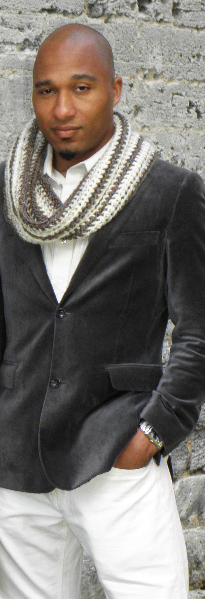 Strapping Lad Infinity Scarf