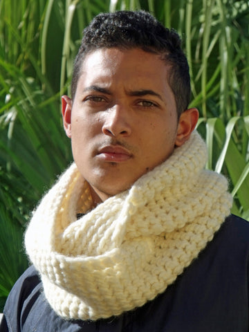 Chunky Merino Snood Long