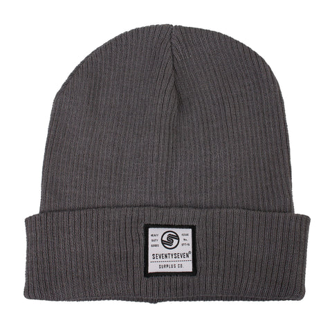 Surplus Co Beanie - Smoke Grey