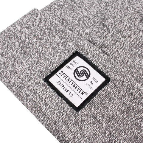 Surplus Co Beanie - Heather Grey