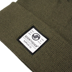 Surplus Co Beanie - Olive Green