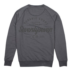 Durable Goods Crew Sweat - Vintaged Grey