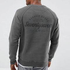Durable Goods Crew Sweat - Vintage Grey