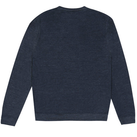 Tiger Crew Sweat - Navy Heather
