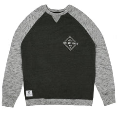 Focus Crew Sweat - Grey / Charcoal Heather