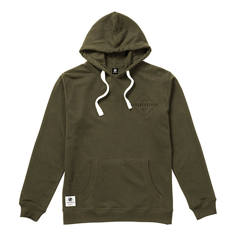 Diamond Hooded Sweat - Khaki