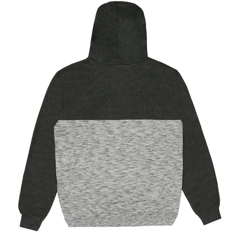 Focus Pullover Hooded Sweat - Grey / Charcoal Heather