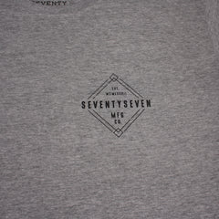 Diamond long sleeve t-shirt - Grey Heather