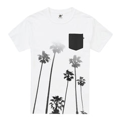 Cali-Palms Pocket t-shirt - White
