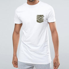 Botanical Pocket t-shirt - White