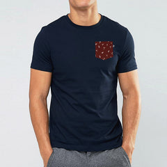 Paradise Pocket t-shirt - Navy