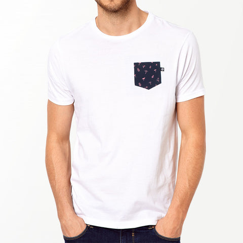 Paradise Pocket t-shirt - White