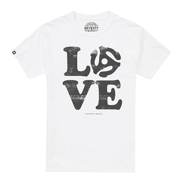 Love Vinyl t-shirt - White