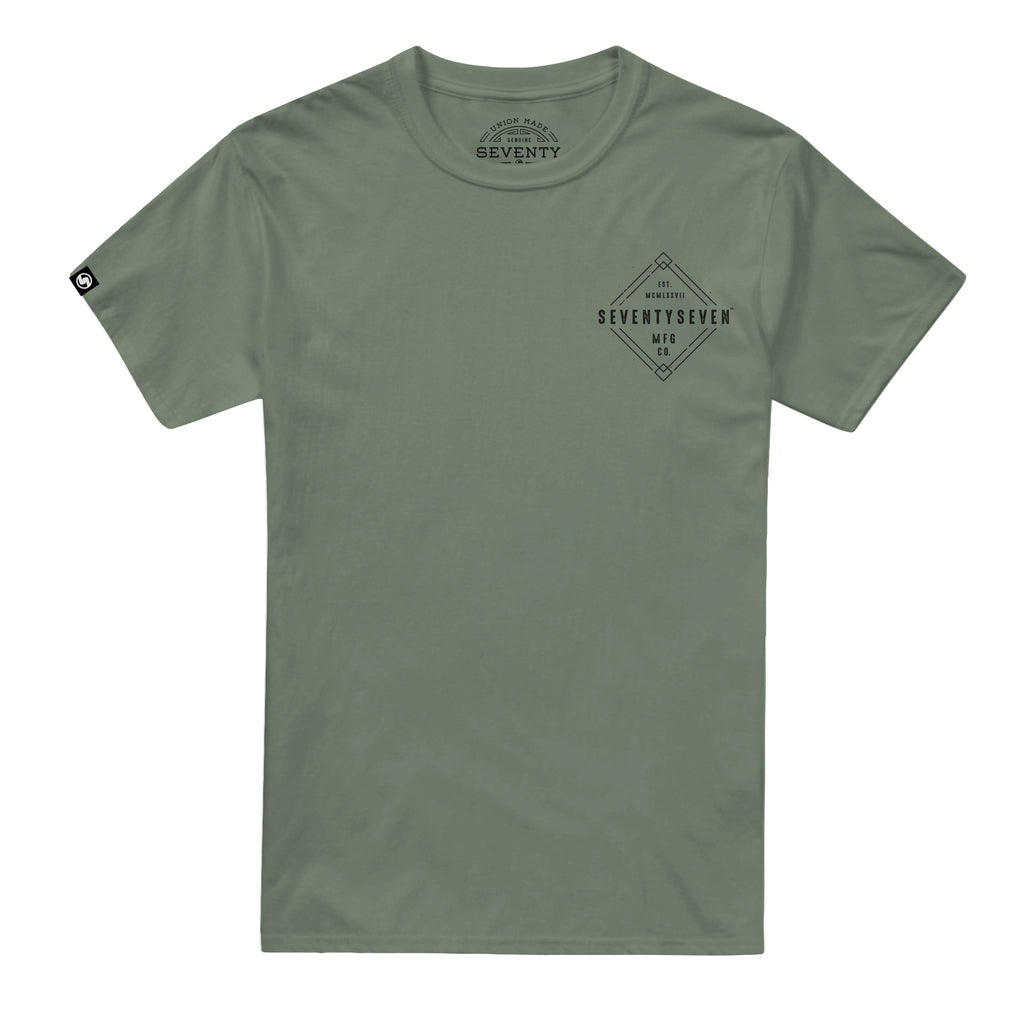 Diamond t-shirt - Khaki