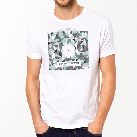 Geo Sleeve t-shirt - White