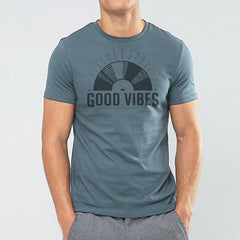 Good Vibes t-shirt - Indigo Blue