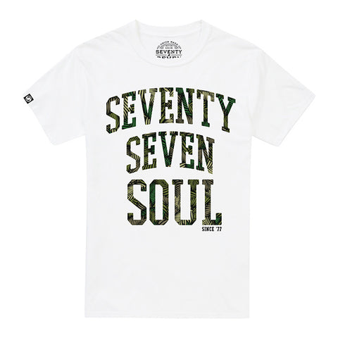 Tropical Soul t-shirt - White