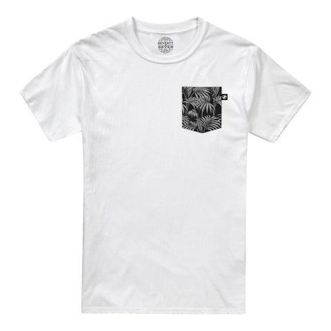 Vintage Palms Pocket t-shirt - White