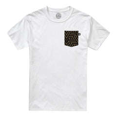 Maze Pocket t-shirt - White