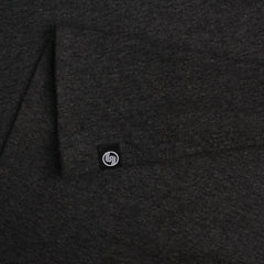 Diamond Baseball t-shirt - Charcoal Heather/Black