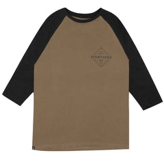 Diamond Baseball t-shirt - Khaki/Charcoal Heather