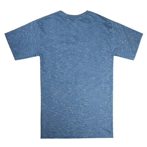Monogram t-shirt - Blue Space Dye