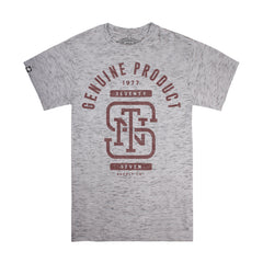Monogram t-shirt - Grey Space Dye