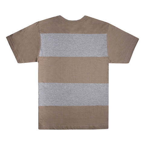 Corsten t-shirt - Khaki/Grey Heather