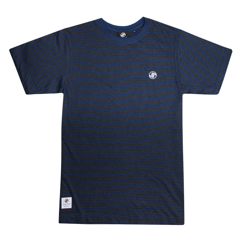 Hawtin t-shirt - Midnight Blue/Charcoal