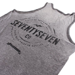 Genuine Burnout Vest - Charcoal