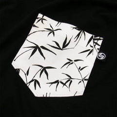 Bamboo Pocket t-shirt - Black