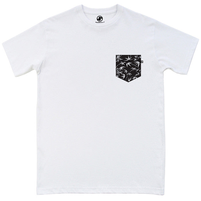 Bamboo Pocket t-shirt - White