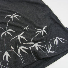 Bamboo Hem t-shirt - Charcoal Heather