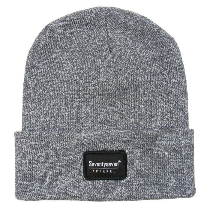 Cuff Beanie - Grey Heather