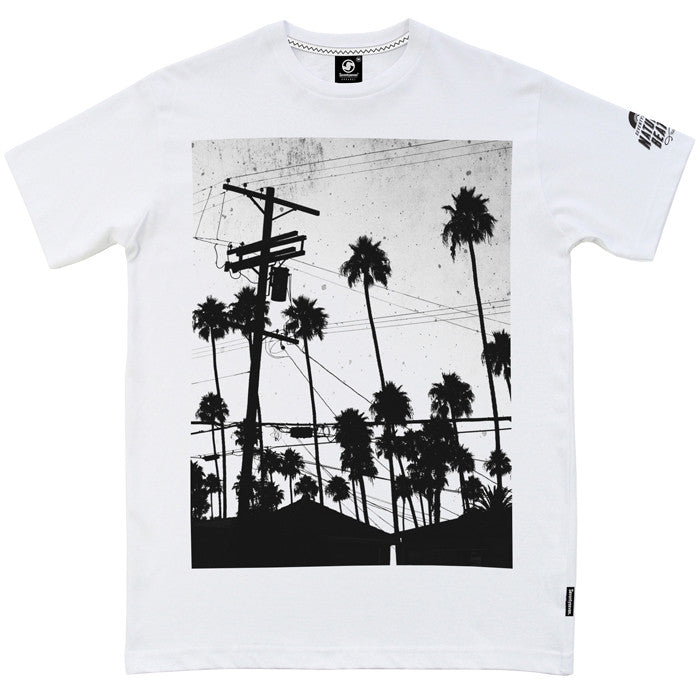 Electric Palms t-shirt - White