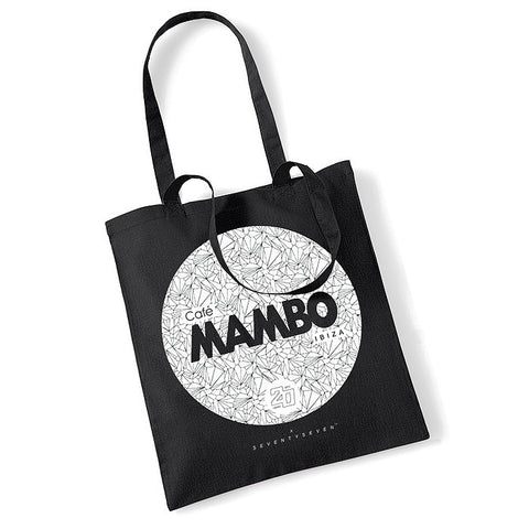 Seventyseven Vs Cafe Mambo Ibiza 2014 Tote Bag - Black
