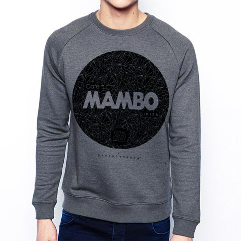 Seventyseven Vs Cafe Mambo Ibiza 2014 Crew Sweat - Grey Heather