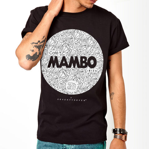 Seventyseven Vs Cafe Mambo Ibiza 2014 t-shirt - Black