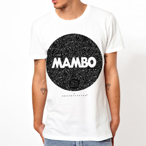 Seventyseven Vs Cafe Mambo Ibiza 2014 t-shirt - White