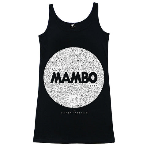 Seventyseven Vs Cafe Mambo Ibiza 2014 Girls Vest - Black