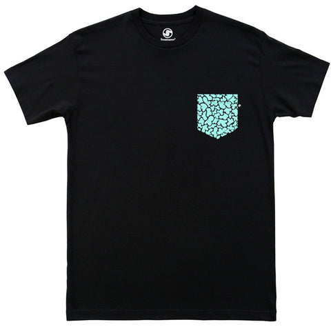 Modern Camo Pocket t-shirt - Black