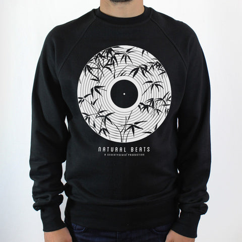 Natural Beats Crew Sweat - Black
